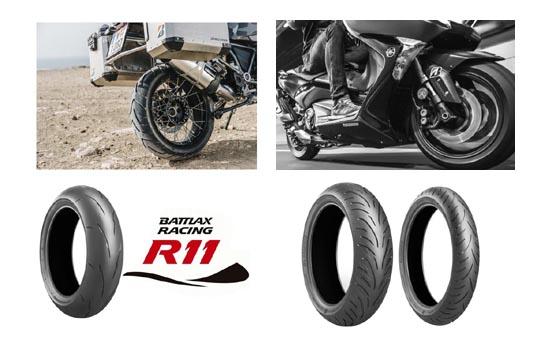 Bridgestone: Neue Battlax Reifen 2018