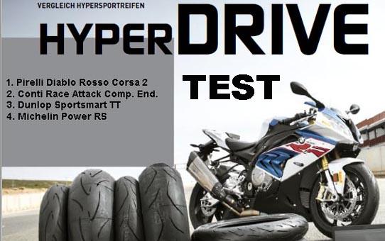 Motorradreifen test 2018