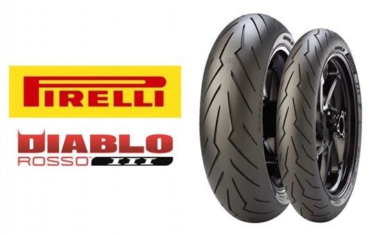 Pirelli Diablo Rosso III Motorradreifen!
